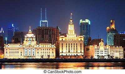 上海, 歴史的, 建築