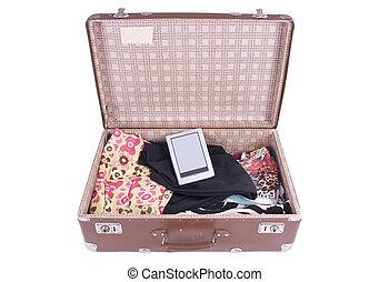上等の衣類, ebook, 現代, スーツケース