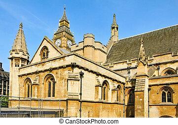 上議院, 以及, 大本鐘, 在, 倫敦, 英國