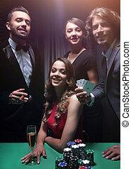 上部, 友人, クラス, casino., ギャンブル