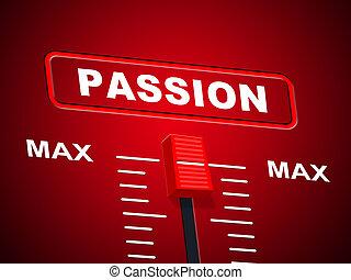 上部, 天井, 表す, マックス, 限界, 情熱