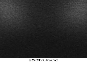 上部, 金属, 2, ライト, 黒い背景