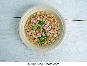 上院, 豆スープ