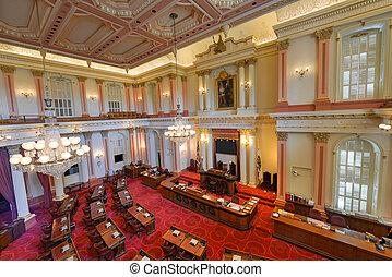上院, 部屋, カリフォルニア