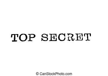 上, タイプ, 秘密, タイプライター