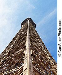 上, eiffel タワー