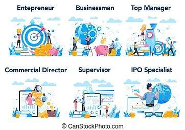 上, set., 専門職, 特徴, ∥あるいは∥, managment, ビジネス