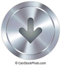 下向き矢印, 産業, ボタン