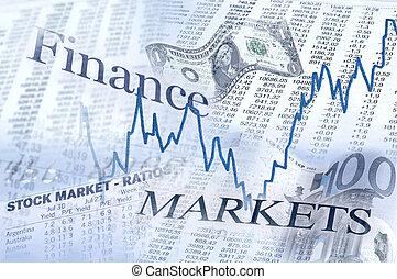 下方に, 市場, 財政, の上