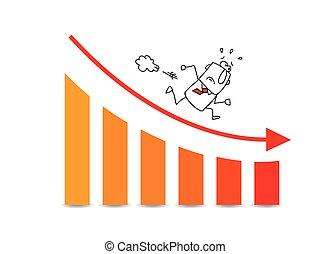 下方に, grows, 市場