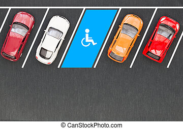 不具, 平面図, 駐車