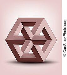 不可能, 立方体