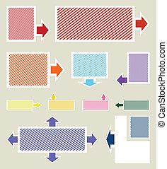 不同, 圖象, colour., 彙整, 索引, 矢量, 插圖