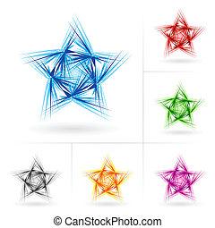 不同, 集合, 星, 圖象