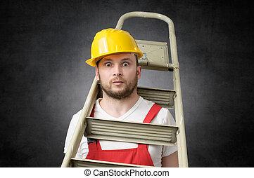 不器用である, 労働者, ∥で∥, はしご