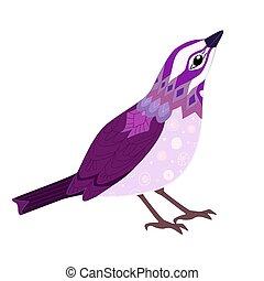 不思議である, デザイン, 鳥, あなたの