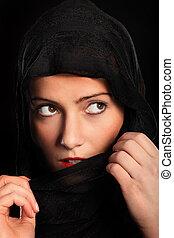 不思議である, 女の子,  muslim