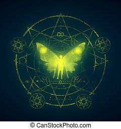 不明瞭である, シンボル, 神秘主義である