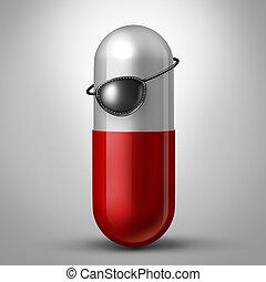 不法入国者, 薬
