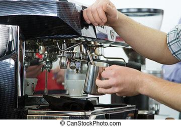 专业人员, 咖啡机器