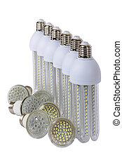 世代, シリーズ, lamps., リードした, 新しい