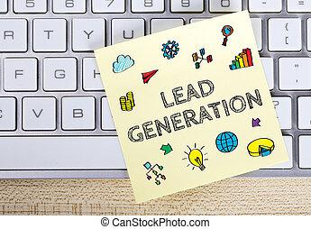 世代, 概念, リード, ビジネス
