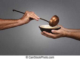 世界を食べさせなさい