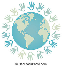 世界和平, 鮮艷, design.