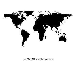 世界地図, デザイン