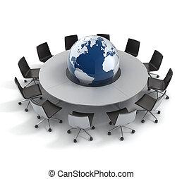 世界政治, 外交