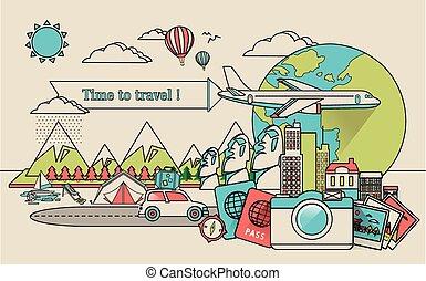 世界旅行, 大約