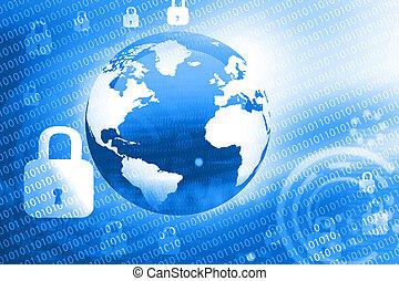 世界的である, インターネットの 保証, 概念