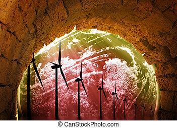 世界的である, エネルギー