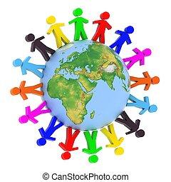 世界的である, コミュニケーション, 概念