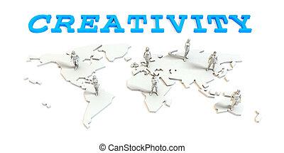 世界的である, 創造性, ビジネス