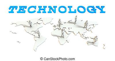 世界的である, 技術, ビジネス