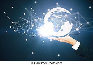 世界的である, 技術, 概念, ビジネス
