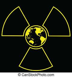 世界的である, 放射