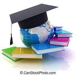 世界的である, 教育