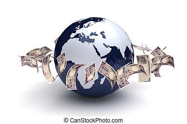 世界的である, 日本語, ビジネス, 円