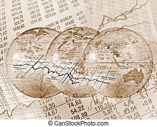 世界的である, 株取引