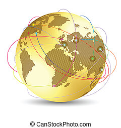 世界的である, 概念, インターネット