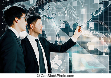 世界的である, 概念, 協力, ネットワーク
