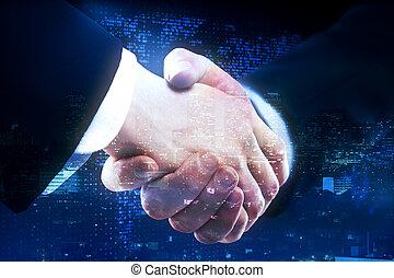 世界的である, 概念, 協力, ビジネス
