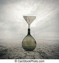 世界的である, 環境, 概念, 損害, warming:
