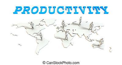 世界的である, 生産性, ビジネス