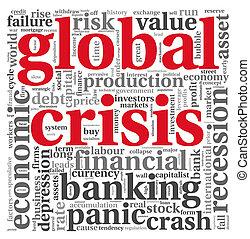 世界的である, 白, 概念, 危機