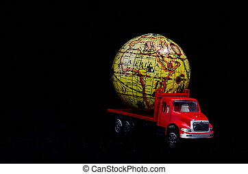 世界的である, 貨物, 概念, 輸送