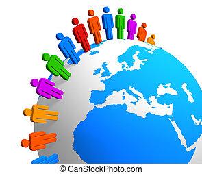世界的なコミュニケーション, 概念