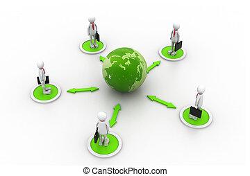 世界的なネットワーク, ビジネス
